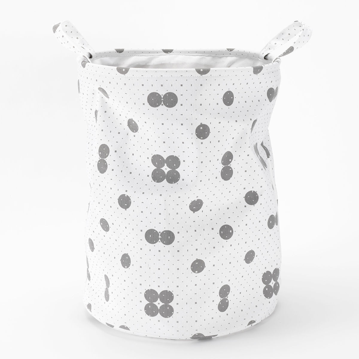 Roomblush_opbergmand_dots_wit-