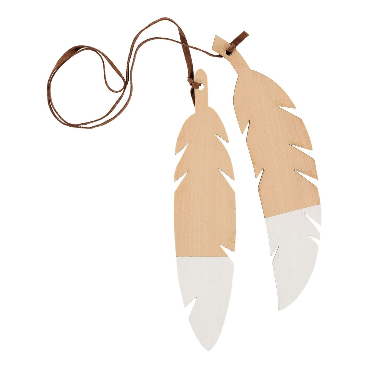 feathers-white-pair
